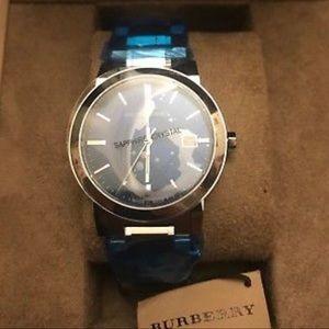 Burberry men's watch (Sapphire Crystal)